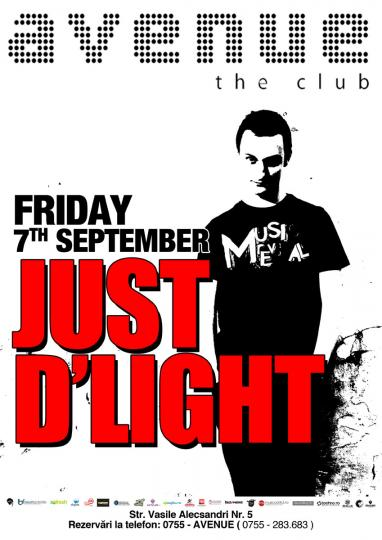 Just D′Light @ Club Avenue Oradea