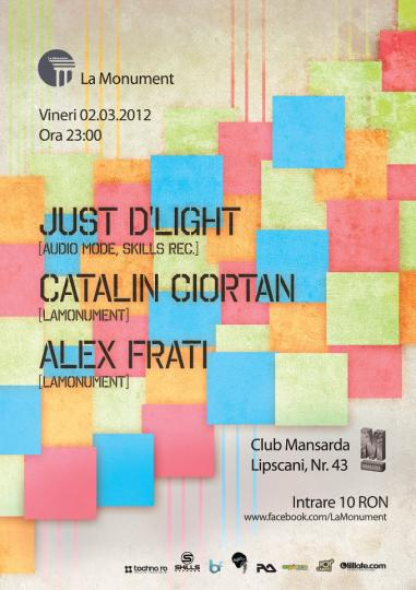 02.03.12 .:. Just D′Light @ Mansarda (Bucharest)