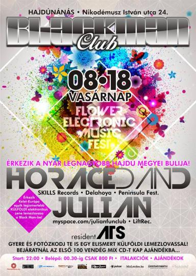18.08. - Horace Dan D. @ Blackman Club - Hajdunanas (HU)