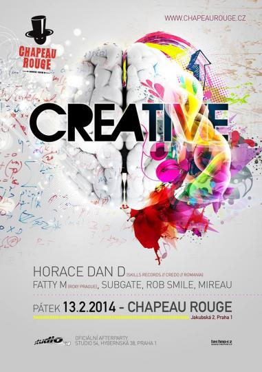 13.02.15 .:. Horace Dan D. plays in Club Chapeau Rouge Prague