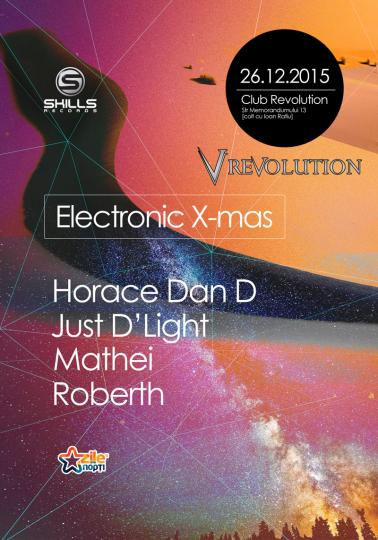26.12.15 Electronic X-mas @ Club Revolution