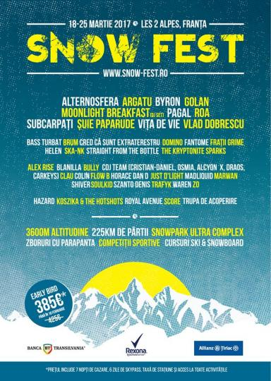 Horace Dan D. & Just D′Light @ Snow Fest 2017