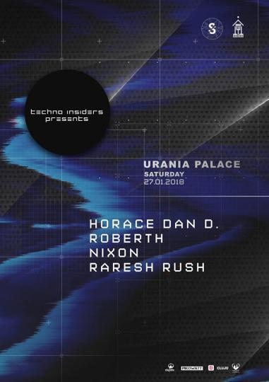27.01.2018 - Techno Insiders @ Urania Palace