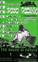 SKL007 : V.A. - Rave Family - The Sound Of Nature 1 (1999)