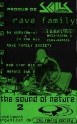 SKL008 : V.A. - Rave Family - The Sound Of Nature 2 (1999)
